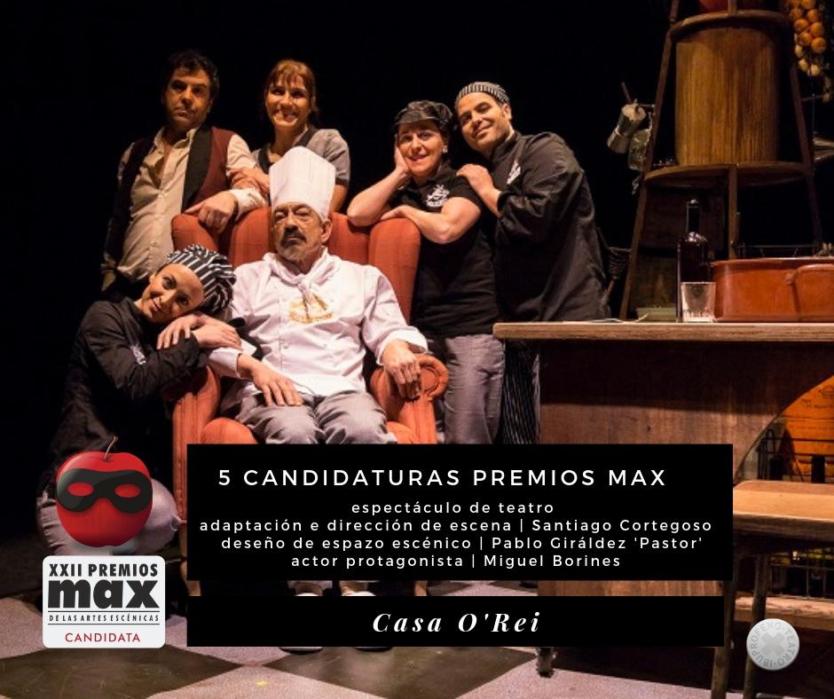 Casa O'Rei obtén cinco candidaturas aos Premios Max