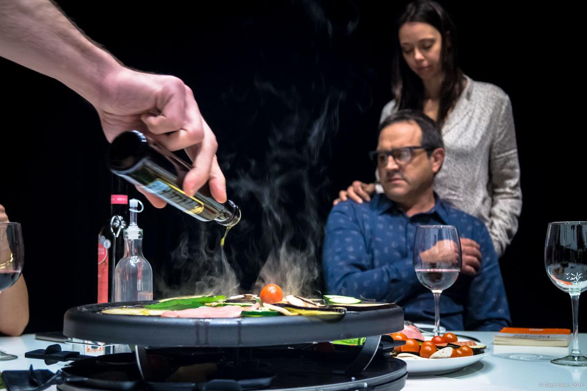 Raclette en Melide