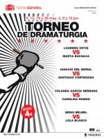Santiago Cortegoso no Torneo de Dramaturxia