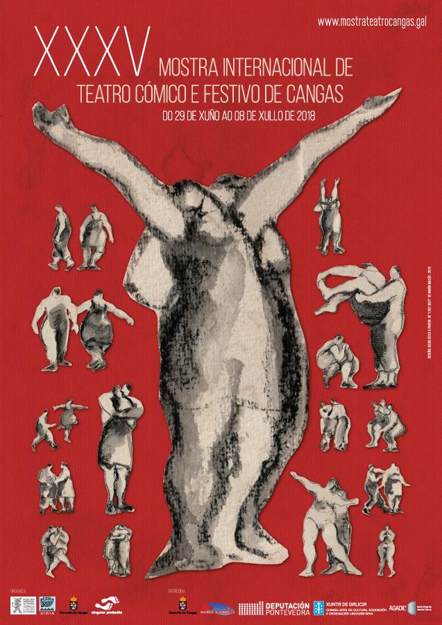 Taller de Creación Escénica en la Mostra de Teatro Cómico de Cangas