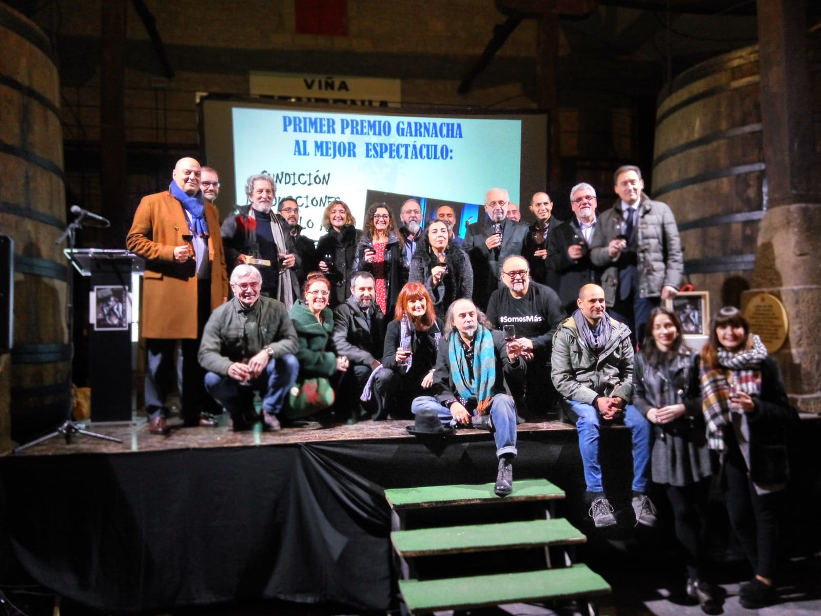 Casa O'Rei recibe o Premio á Mellor Montaxe no Certame de Haro